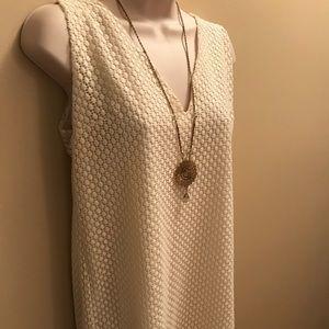✨NWT✨ Massimo Dutti ivory dress